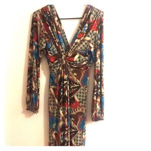 Dresses & Skirts - Long sleeved boho dress